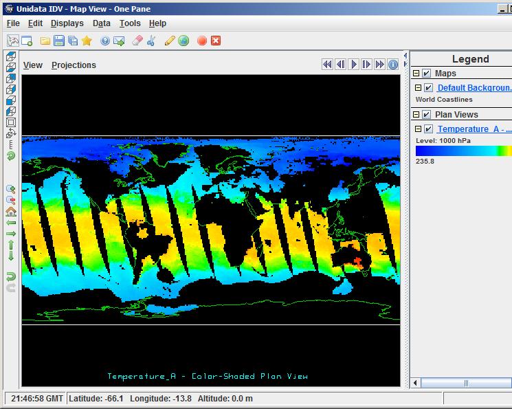 HDF4 Handler Demos and Screenshots